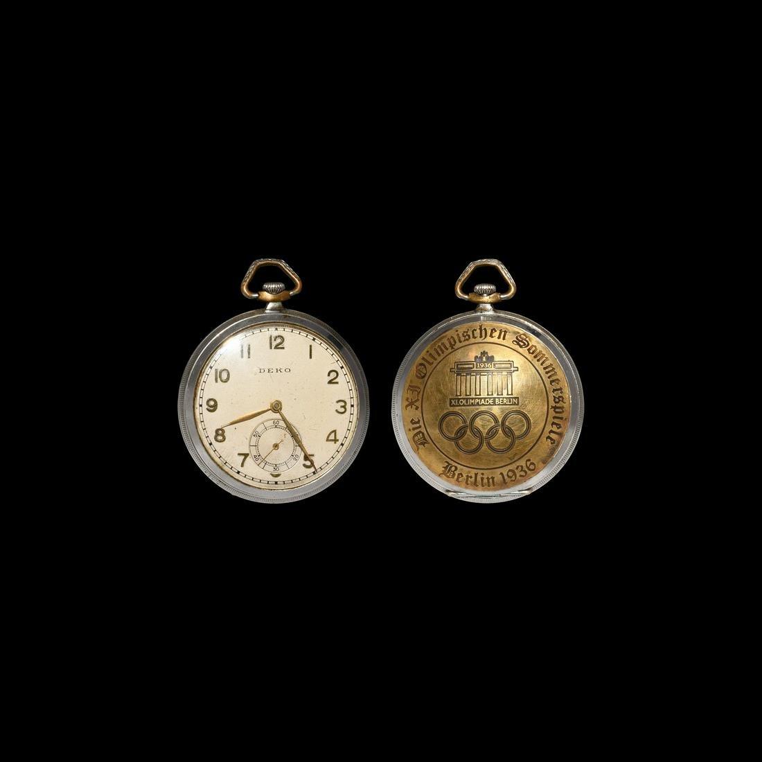 Post Medieval Berlin Olympic Pocket Watch