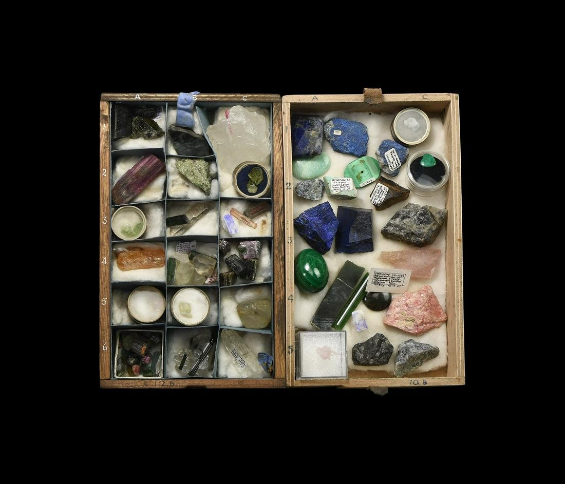 Historic Mineral and Gemstone Collection