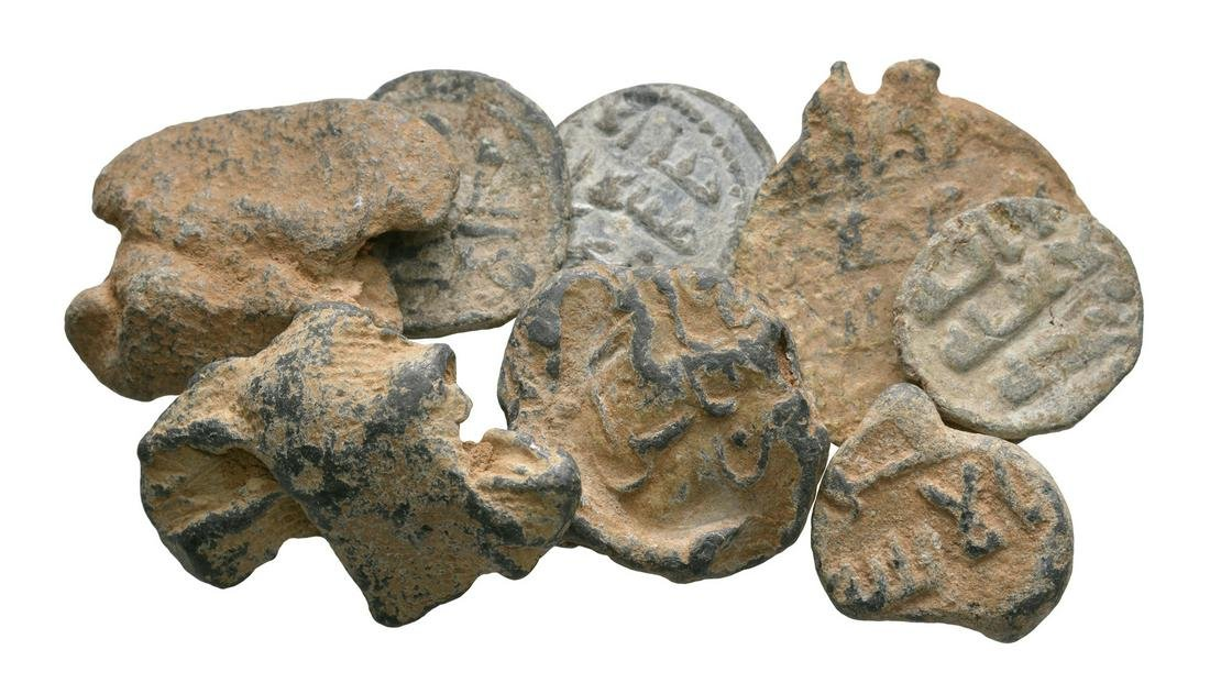 Islamic Lead Tokens and Seals [8]