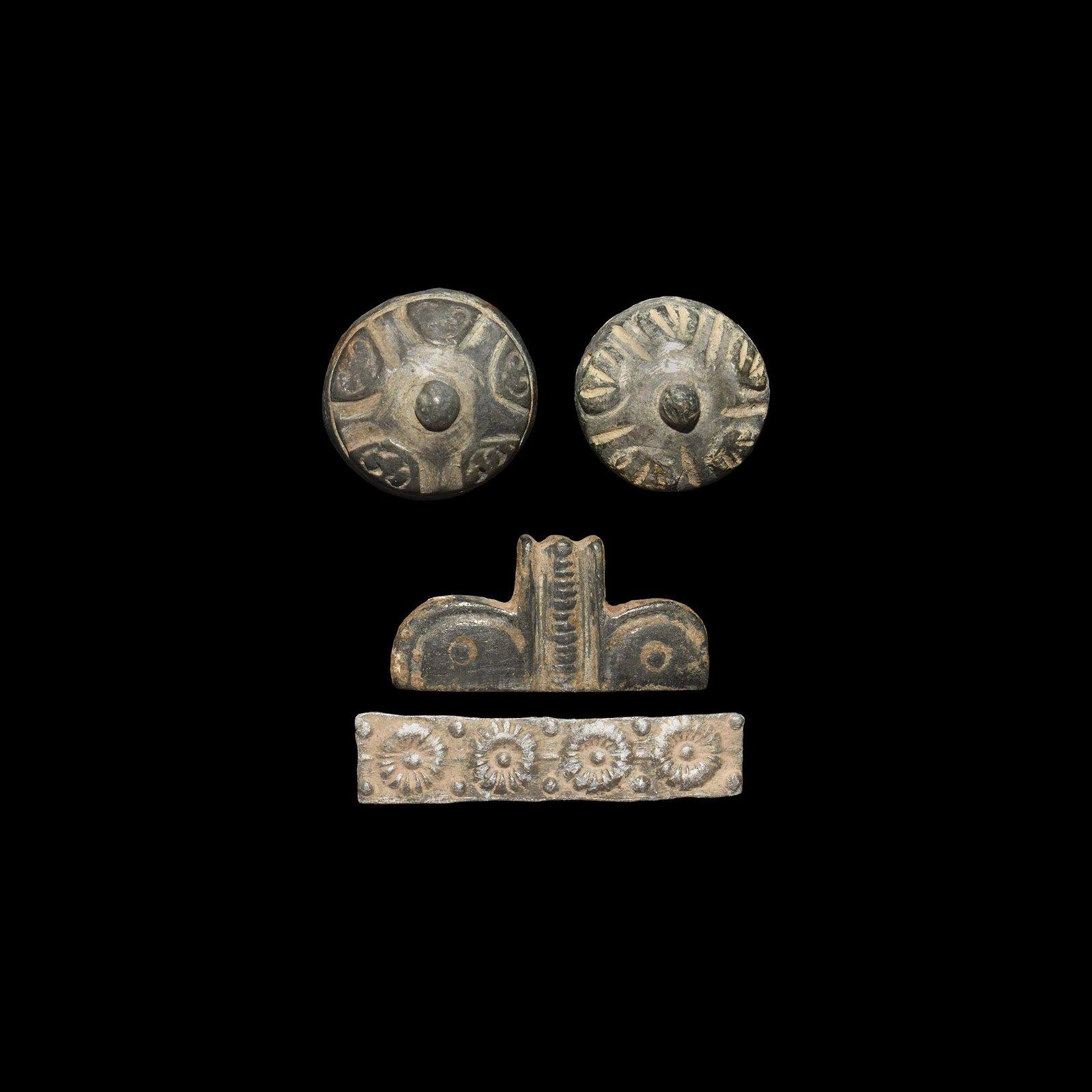 Roman Silver Mount Group