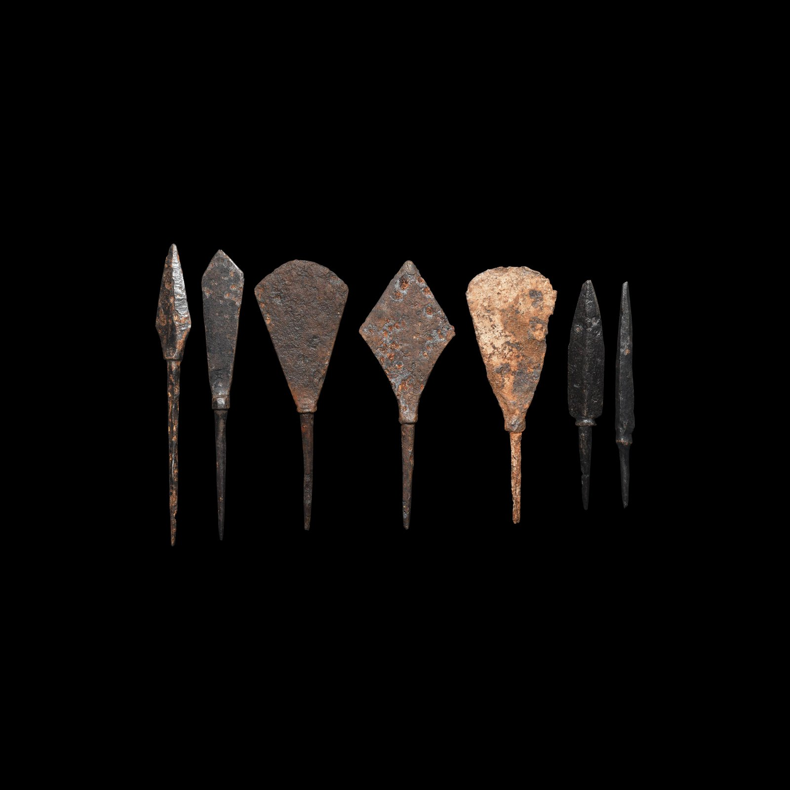 Medieval Arrowhead Collection