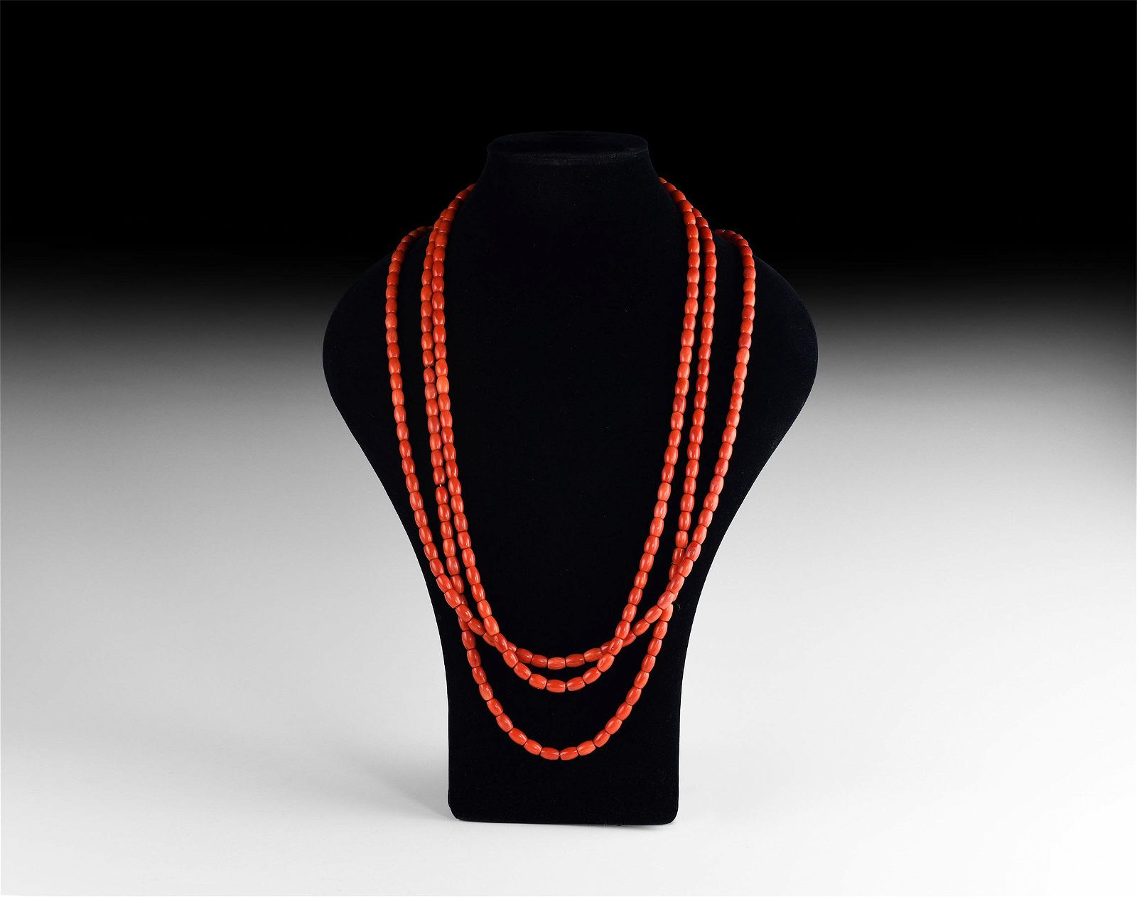 Natural History - Coral Bead Necklace Group