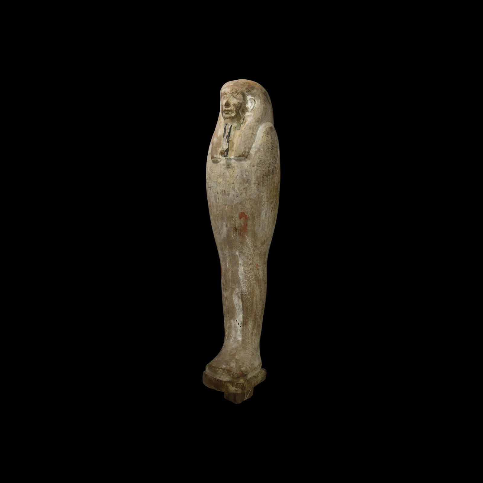 Large Egyptian Mummiform Figurine