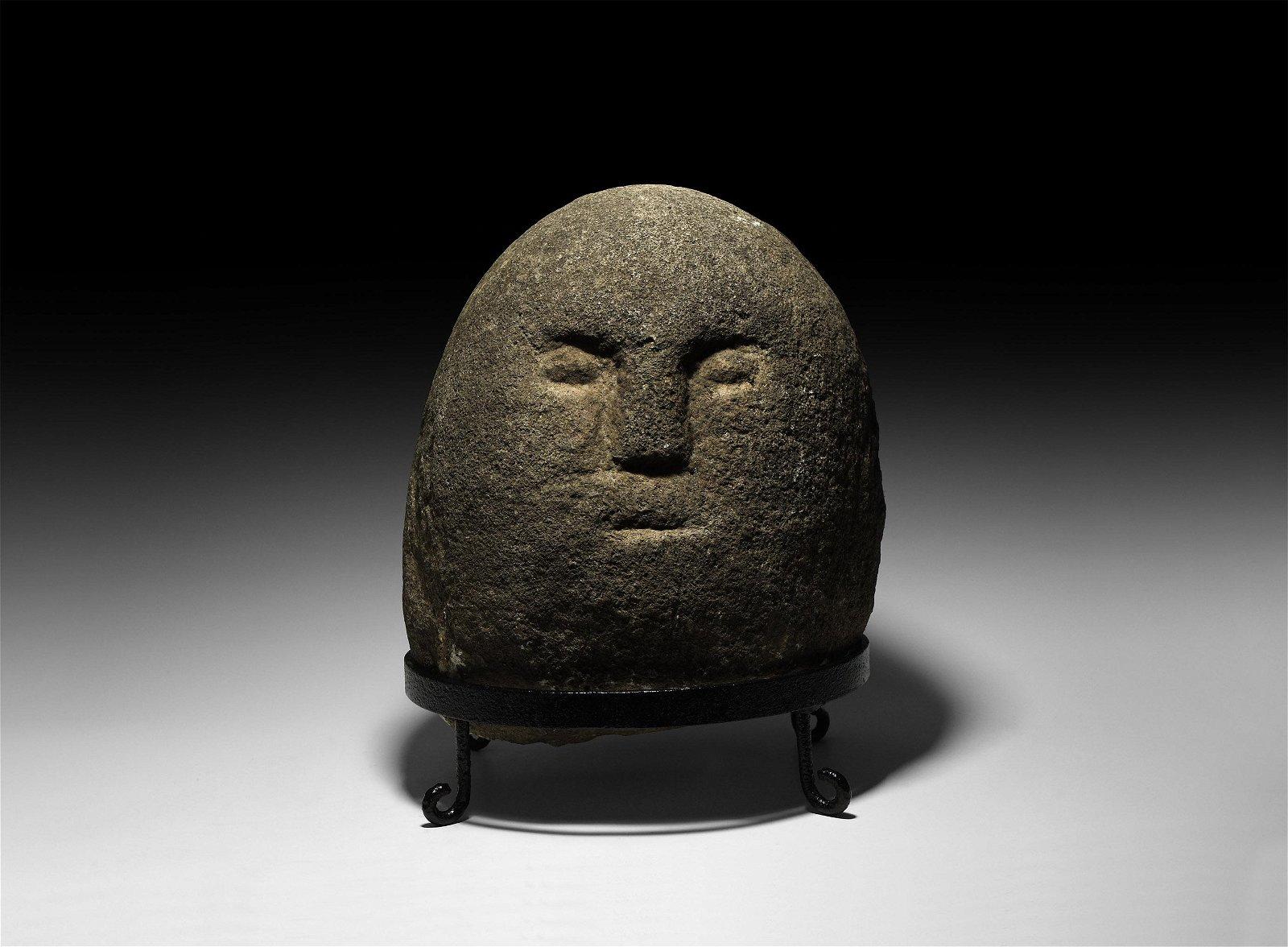 The Irish Celtic Ballyarton Stone Head