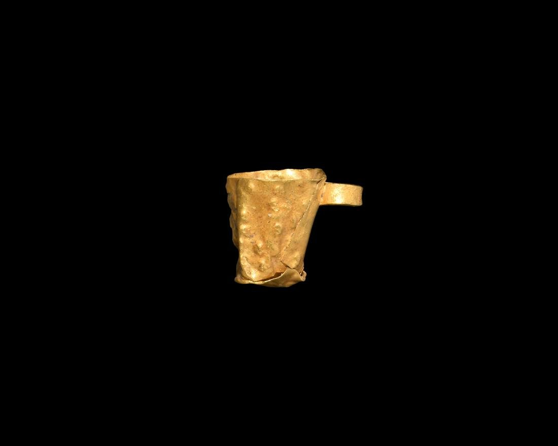 Viking Gold Cup Pendant