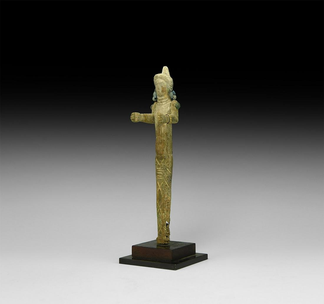 Parthian Female Bone Idol