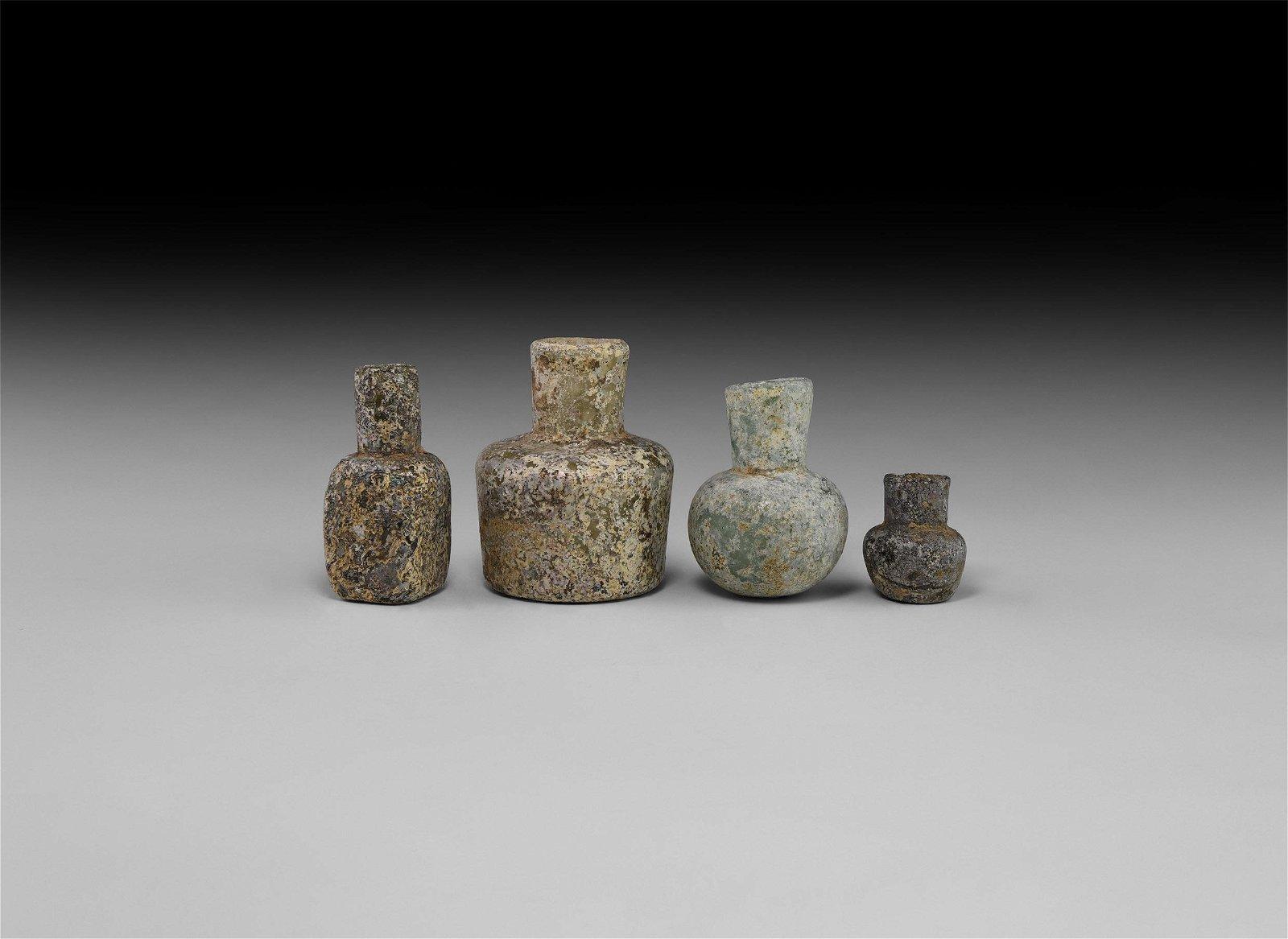 Roman Glass Vessel Group