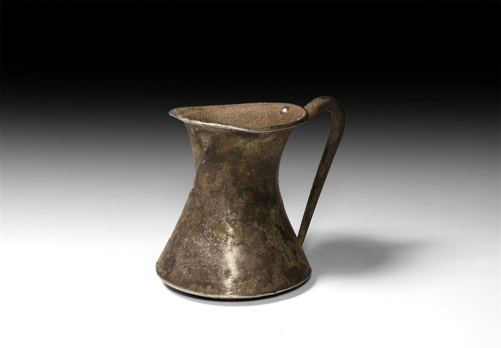 Amlash Silver Handled Cup