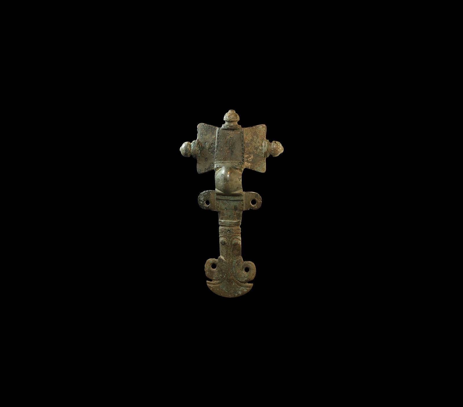 Large Anglo-Saxon Cruciform Brooch