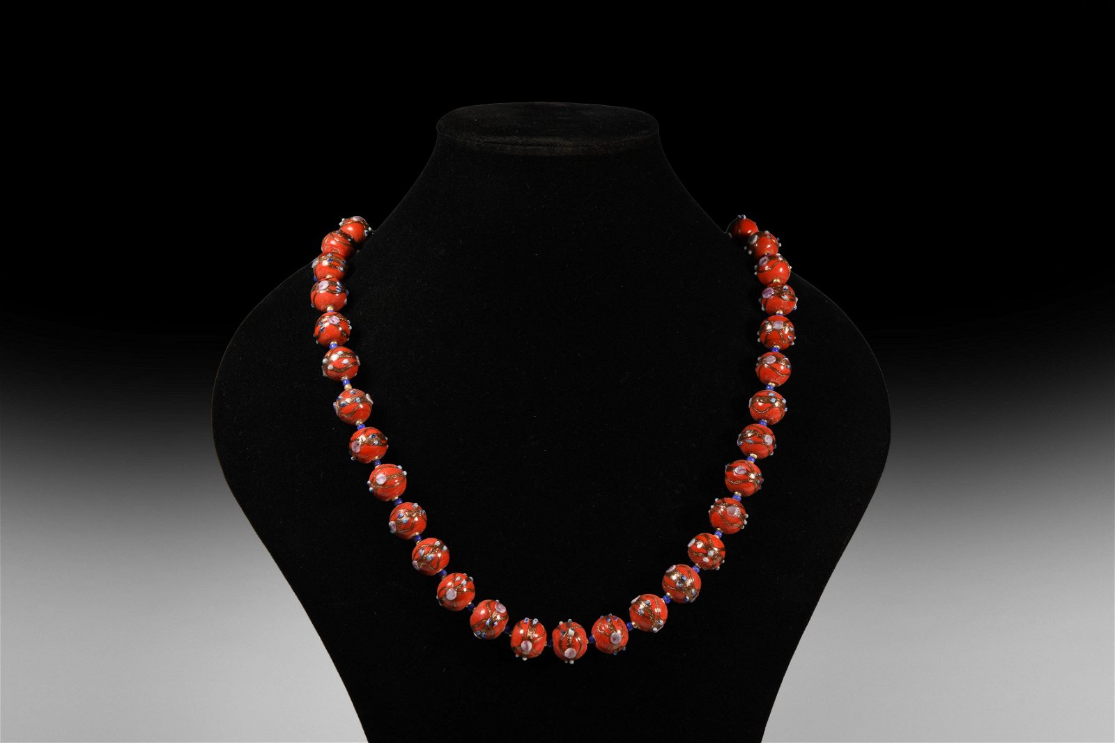 Venetian Style Glass Bead Necklace String
