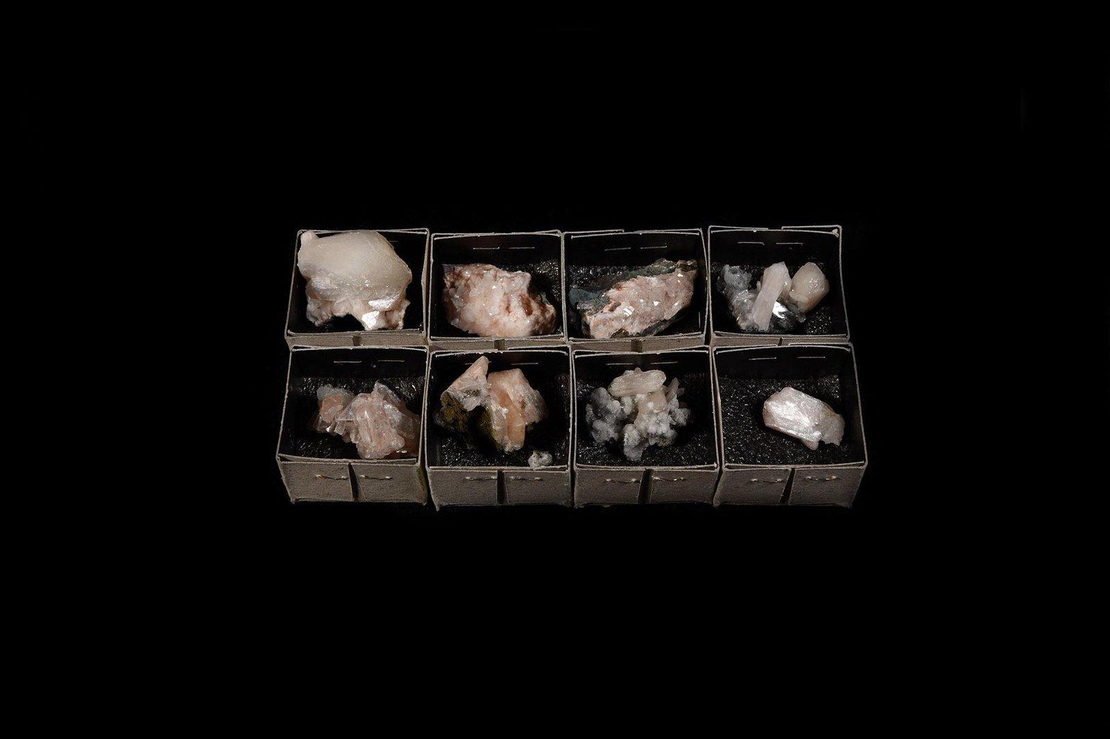 Stilbite Crystal Mineral Specimen Group