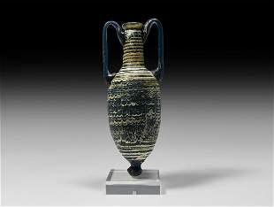 Large Hellenistic Core-Formed Amphoriskos