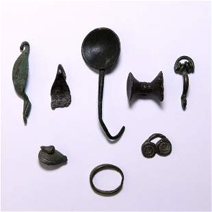 Iron Age Celtic to Roman Artefact Collection