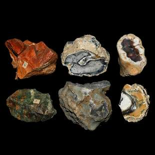 Agate Mineral Specimen Group [6]