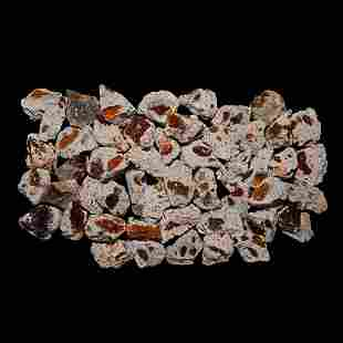 Fire Opal in Matrix Mineral Specimen Group [50]