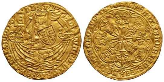 Edward IV - Bristol Mint - Gold Rose Ryal