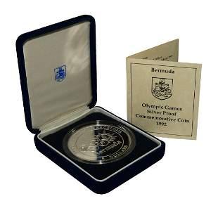 Bermuda - 1992 - RM Silver Proof $5