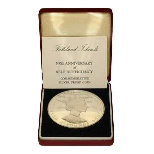 Falkland Islands - 1985 - RM Proof Silver £25