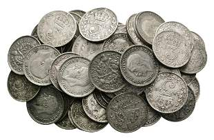 George V - Silver Threepence Group [64]