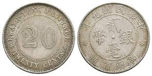 Republic of China - Twenty Cents
