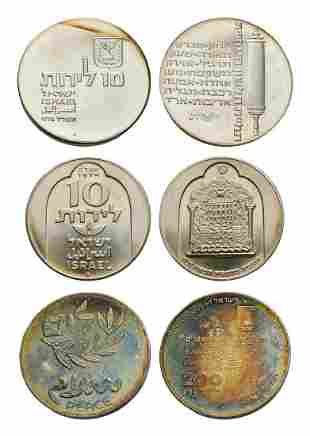 Israel - Silver Coin Group [3]