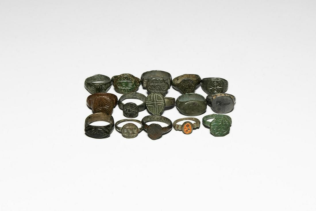 Roman to Medieval Ring Collection