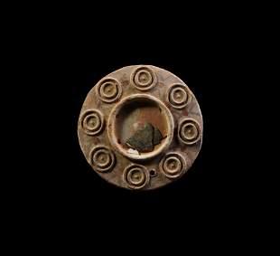 Byzantine Terracotta Mirror