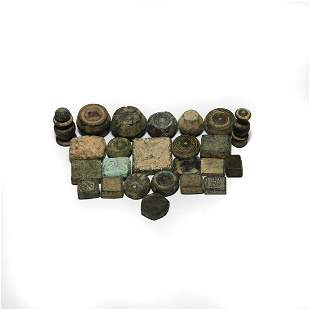 Byzantine Trade Weight Collection