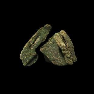 Bronze Age Founder's Hoard Ingot Fragment Group