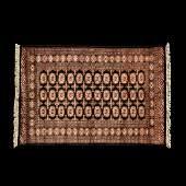 Vintage Bokhara Woven Carpet