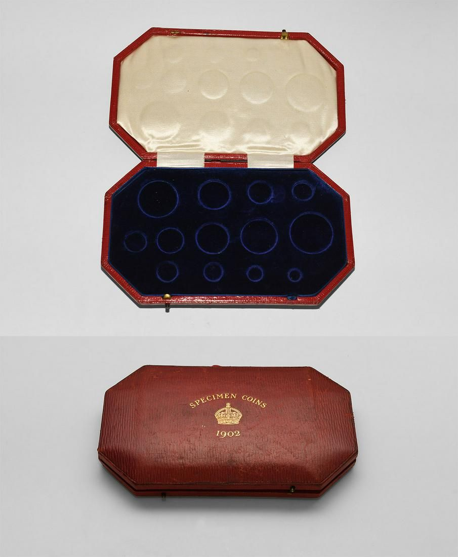 Edward VII - 1902 - Royal Mint Proof Set Case