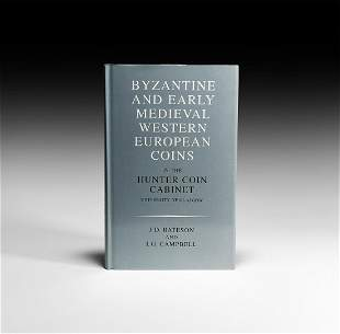 Hunter Cabinet - Byzantine & Early Medieval Coins