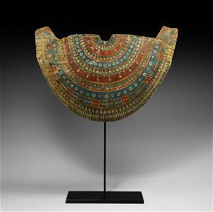 Egyptian Cartonnage Collar