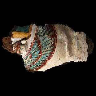Egyptian Cartonnage Fragment