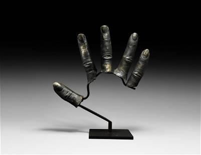 Egyptian Silver Finger Stalls