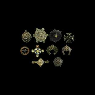 Roman Plate Brooch Collection