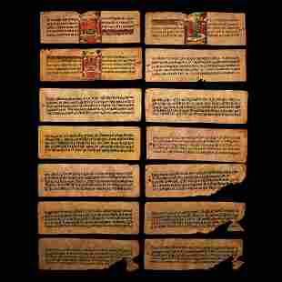 Nepalese Buddhist Manuscript
