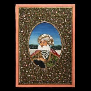 Indian Portrait of Sikh Nobleman