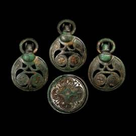 'The Scotch Corner' Anglo-Saxon Mounts and Bowl
