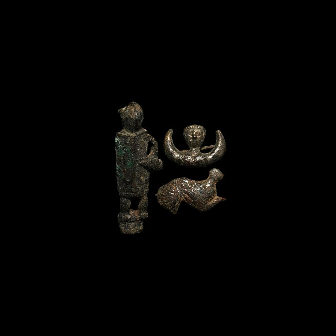 Roman Figural Brooch Collection