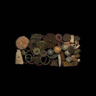 Roman to Post Medieval Artefact Group