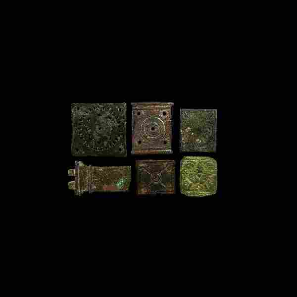 Roman Military Buckle Plate Collection