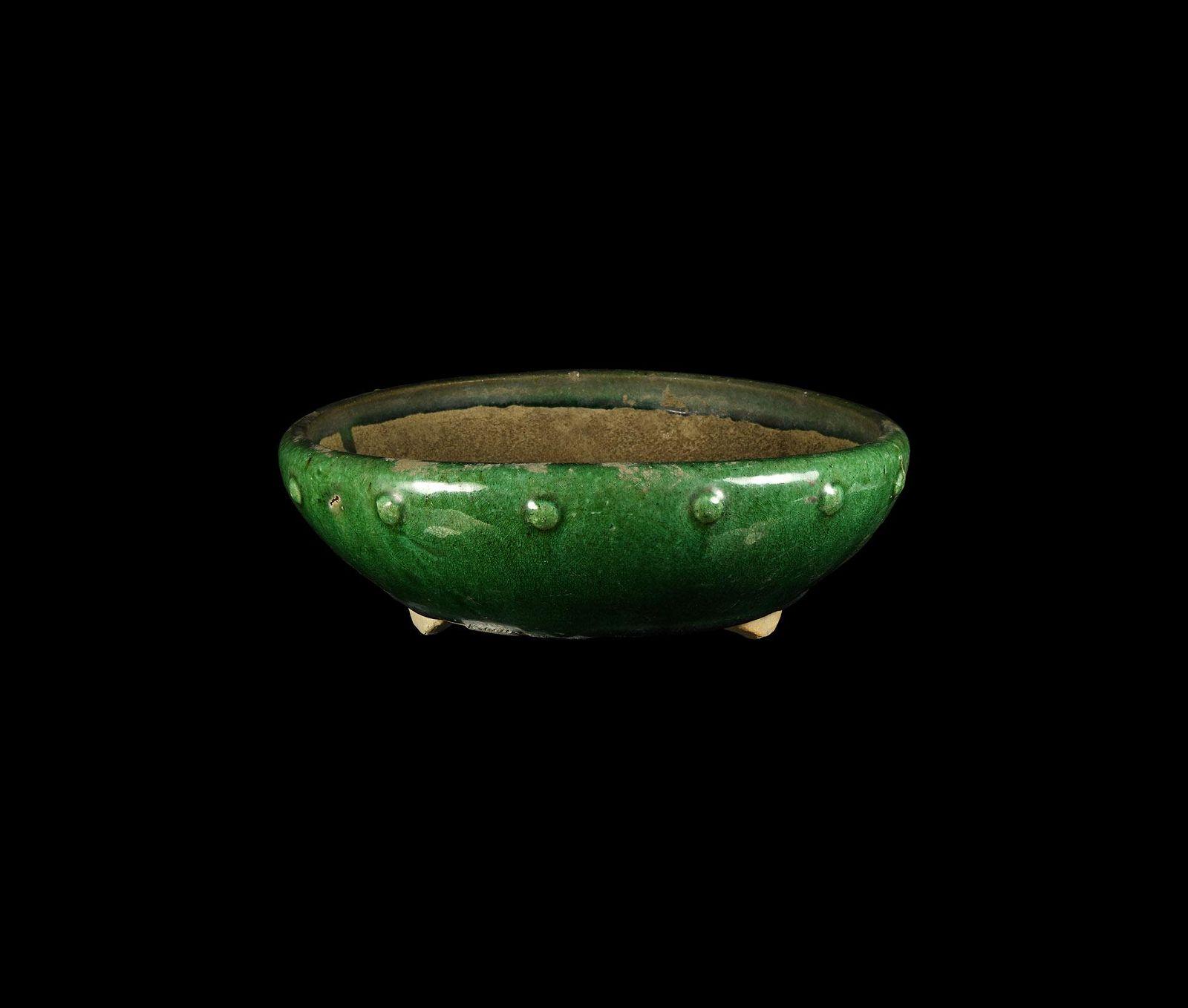 Chinese Ming Green Glazed Planter