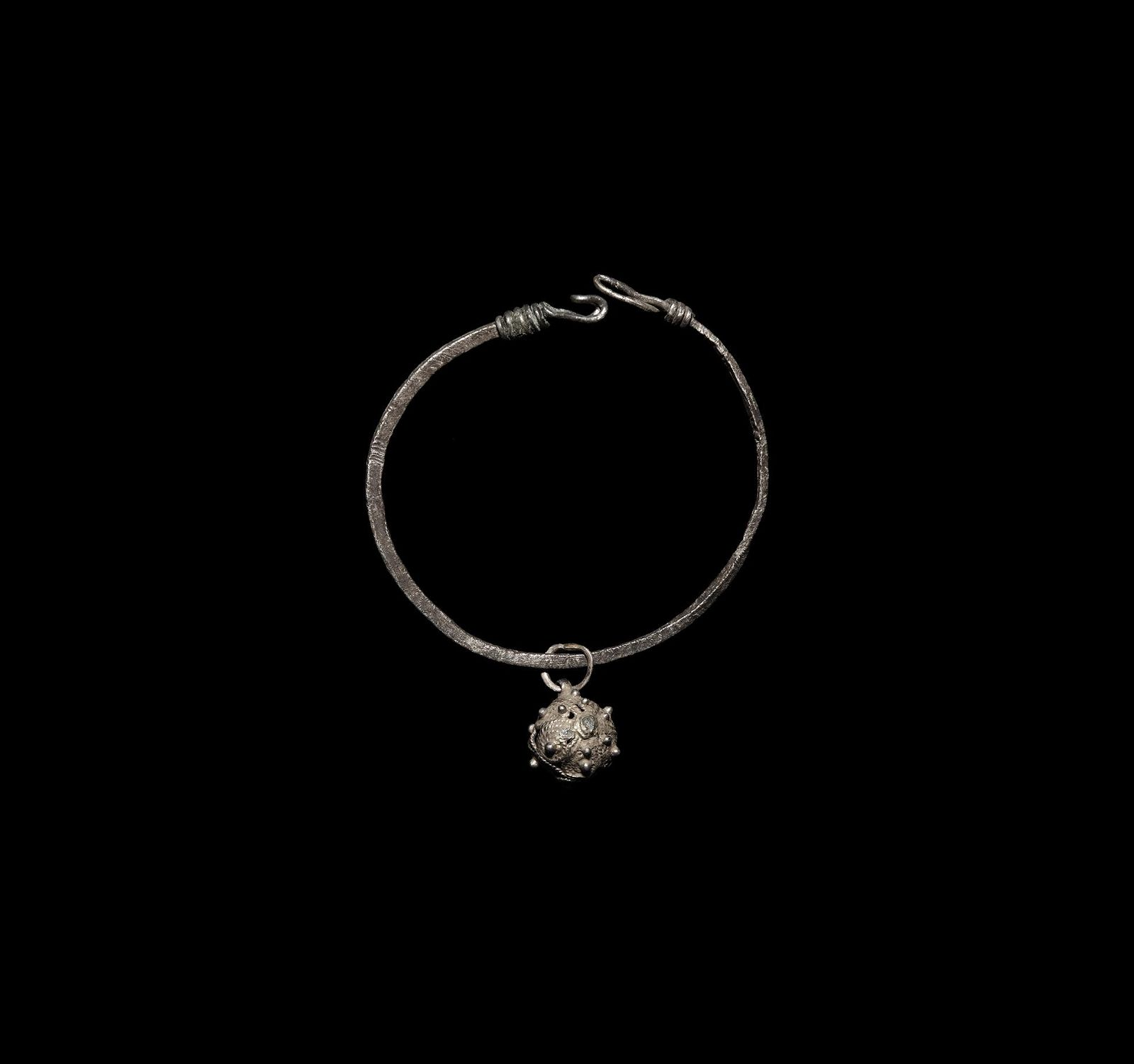 Islamic Silver Bracelet with Pendant