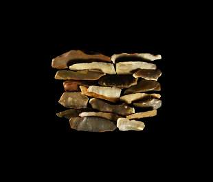 Stone Age Flint Blades Group