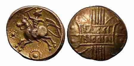 Catuvellauni - Tasciovanus - Tascio Rigon Variant Gold