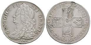 George II - 1746 LIMA - Halfcrown