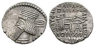 Parthia - Vologases III - Archer AR Drachm