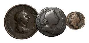 George III - Threepence, Penny and Halfpenny [3]