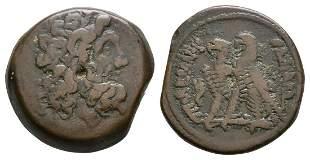 Ptolemy X - Two Eagles Bronze